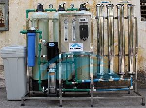 Dây chuyền lọc nước RO công nghiệp 1200 lít/giờ Kapano