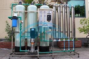 Dây chuyền sản xuất nước tinh khiết 1500 lít/giờ Kapano