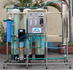 Dây chuyền lọc nước tinh khiết 350 lít/giờ Kapano