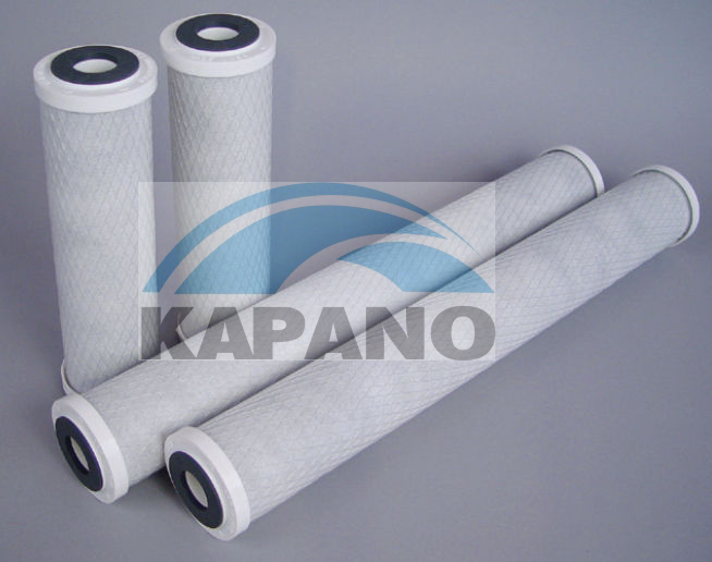Kapano extruded carbon block filter cartridges